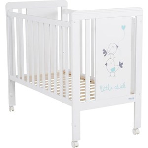 Кровать Micuna Little Chick 120*60 white/aquamarine кровать micuna little chick 120 60 white pink