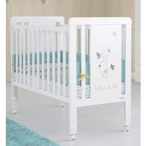 Кровать Micuna Little Chick 120*60 white/pink кровать micuna little chick 120 60 white pink