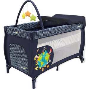 Манеж Asalvo Travel Cot Mix Plus Animals Of The World 12623