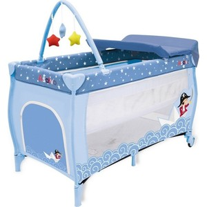 Манеж Asalvo Travel Cot Mix Plus Pirate 12647 кальсоны детские craft mix