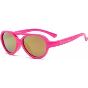 цена на Детские солнцезащитные очки Real Kids Авиаторы 7+ неон розовые (7SKYNPK)