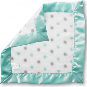 Платочек обнимашка SwaddleDesigns Baby Lovie плюшевая нежность SC & Sterling Dot (SD-429SC) dot
