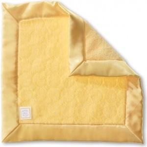 Платочек обнимашка SwaddleDesigns Baby Lovie плюшевая нежность Yellow Puff Circle (SD-167Y)