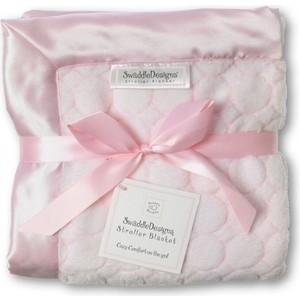 Плед детский SwaddleDesigns Stroller Blanket Pstl Pink Puff C (SD-058PP)
