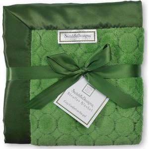 где купить Плед детский SwaddleDesigns Stroller Blanket Pure Green Puff C (SD-168PG) по лучшей цене