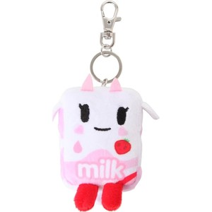 Плюшевый брелок Tokidoki Strawberry Milk (814344020590) strawberry print pencil case