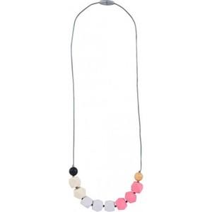 Силиконовые бусы Itzy Ritzy Bead Opal Blush (CUBENECK9204) trendy noctilucence hollow out bead rhinestone pendant necklace