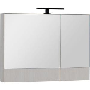 Зеркало Aquanet Тоника 90 (камерино) белый дуб (169641) классическое зеркало aquaton идель 85 дуб белый 1a195702idm70