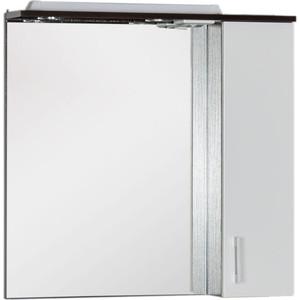 Зеркало Aquanet Тиана 75 венге (183655) комплект мебели aquanet тиана 90 у с б к цвет венге фасад белый