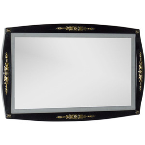 Зеркало Aquanet Виктория 120 черный/золото (183927) виктория левина дом в деревне