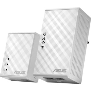 Wi-Fi Powerline адаптер Asus PL-N12 asus rt n12 vp black
