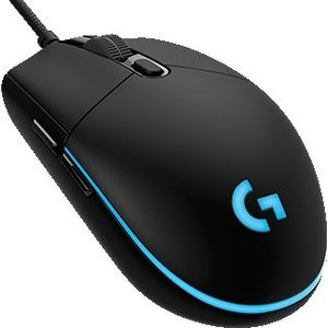 Игровая мышь Logitech Mouse G Pro (910-004856) mele f10 pro 2 4ghz air mouse wireless keyboard intelligent voice