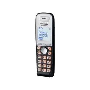 Доп. трубка Panasonic KX-WT115RU радиотелефон dect panasonic kx tgh212rub дополнительная трубка kx tgha20 черный