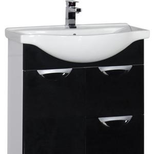 Тумба под раковину Aquanet Асти 75 б/к черный (178256)  - купить со скидкой