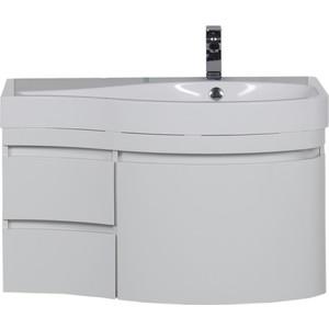 Aquanet Сопрано 95 R белый (2 дверцы 2 ящика) (169633)