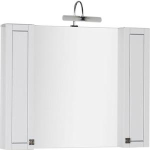 Шкаф-зеркало Aquanet Честер 105 белый (182631)