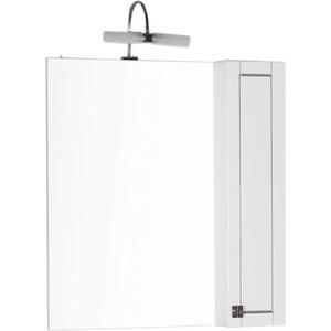 Шкаф-зеркало Aquanet Честер 85 белый (186400)