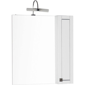 Шкаф-зеркало Aquanet Честер 85 белый (186400) шкаф зеркало aquanet честер 85 белый 186400
