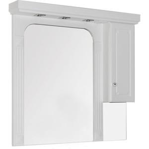 Шкаф-зеркало Aquanet Фредерика 125 белый (182012)