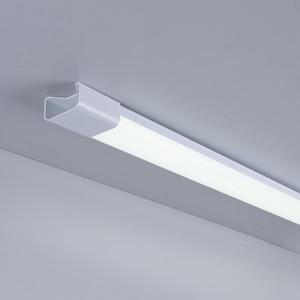 Светильник пылевлагозащищенный линейный Elektrostandard 4690389099090 светильник technolux tlwp лпп эпра без ламп 2х36вт t8 ip66 пылевлагозащищенный