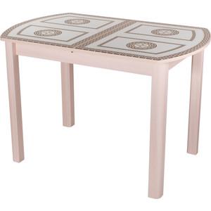 Стол Домотека Гамма ПО (МД ст-71 04 МД) стол с ящиками витра 19 71