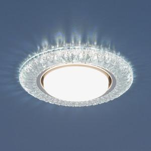 Точечный светильник с двойной подсветкой Elektrostandard 4690389083266 elvan точечный светильник elvan 14 no4 ab