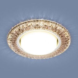 Точечный светильник с двойной подсветкой Elektrostandard 4690389083280