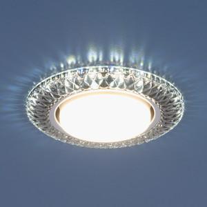 Точечный светильник с двойной подсветкой Elektrostandard 4690389083273