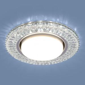 Точечный светильник с двойной подсветкой Elektrostandard 4690389099991 точечный светильник с двойной подсветкой elektrostandard 4690389060618