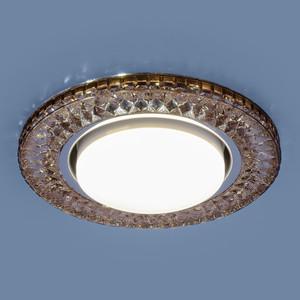 Точечный светильник с двойной подсветкой Elektrostandard 4690389100017