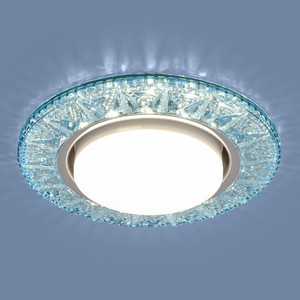Точечный светильник с двойной подсветкой Elektrostandard 4690389100031