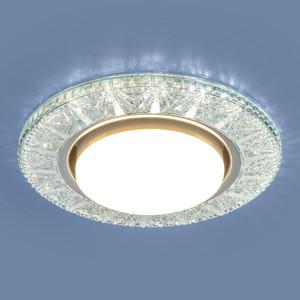 Точечный светильник с двойной подсветкой Elektrostandard 4690389100024 точечный светильник с двойной подсветкой elektrostandard 4690389060618