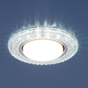 Точечный светильник с двойной подсветкой Elektrostandard 4690389083297 точечный светильник с двойной подсветкой elektrostandard 4690389060618