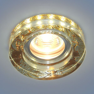 Точечный светильник Elektrostandard 4690389083211 elektrostandard точечный светильник со светодиодами elektrostandard 2190 mr16 pk розовый перламутр 4690389083211