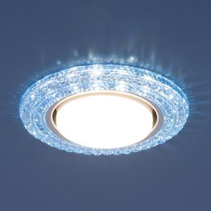 Точечный светильник с двойной подсветкой Elektrostandard 4690389083334 точечный светильник с двойной подсветкой elektrostandard 4690389060618