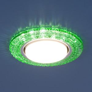 Точечный светильник с двойной подсветкой Elektrostandard