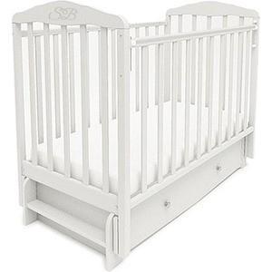 Кроватка Sweet Baby Eligio Bianco (Белый) (385674) кроватка с маятником sweet baby eligio avorio слоновая кость