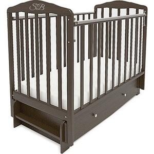 Кроватка Sweet Baby Eligio Wenge (Венге) (385677) наматрасники sweet baby наматрасник sb k012 овальный