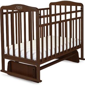 Кроватка Sweet Baby Ennio Wenge (Венге) (382001) sweet baby наматрасник непромокаемый sb k013