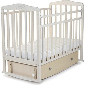 Кроватка Sweet Baby Luciano Nuvola Bianca (Белое облако) (378144) бампер 2190 гранта пер белое облако