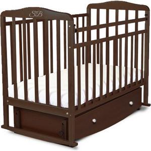 Кроватка Sweet Baby Luciano Wenge (Венге) (382040) sweet baby наматрасник непромокаемый sb k013