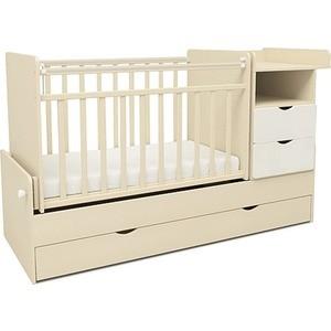 Кровать-трансформер Sweet Baby Valentino Avorio Bianco (Слоновая кость+белый) (378180)