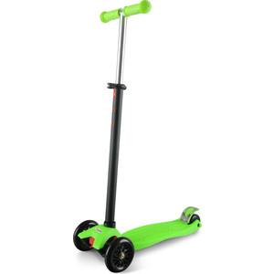 Самокат 4-х колесный Sweet Baby Triplex Maxi Green (378479) самокат 3 х колесный 21st scooter 21st scooter детский самокат с сиденьем maxi scooter красный