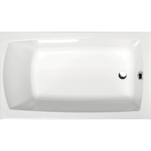 Акриловая ванна Alpen Lily 120x70 (комплект)
