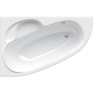 Акриловая ванна Alpen Terra L 170x110, левая (комплект) santek эдера 170x110 l
