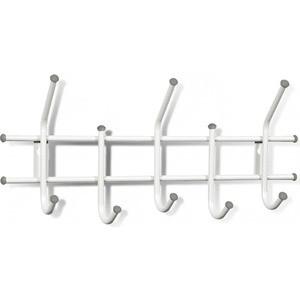 Вешалка Sheffilton Стандарт 2/5 белый/серый, (3 штуки) вешалка sheffilton стандарт 2 5 черный серый 3 штуки