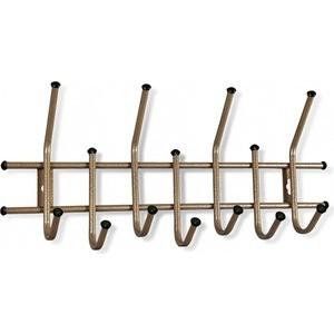 Вешалка Sheffilton Стандарт 2/7 бронза/черный, (3 штуки) sheffilton вешалка металлическая стандарт 2 11 крючков черная d1 g4q t1