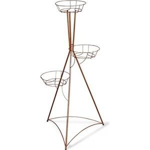 Подцветочница Sheffilton Колонна трехгоршковая медный антик sheffilton колонна трехгоршковая медный антик