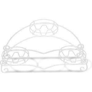 Подцветочница Sheffilton Соната белый подцветочница sheffilton колонна трехгоршковая бронзовый антик