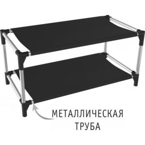 Полка для обуви Sheffilton SHT-SR4 черный/хром лак/черный anne klein 1631 mpti
